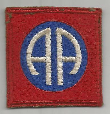 WW 2 US Army 82nd Airborne Division Greenback Patch Inv# K316