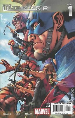 Ultimates 2 (2004 2nd Series) #1A VF STOCK IMAGE