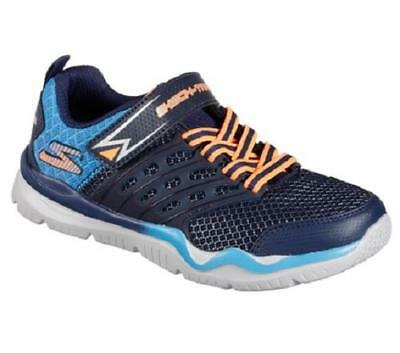 Boy's Youth SKECHERS Blue SKECH-TRAIN Athletic/Casual Sneakers Shoes 97530 NEW
