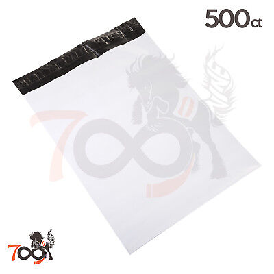 500 2.5 Mil 14.5x19 Owlpack Seal Poly Mailer Security Shipping Plastic Envelopes