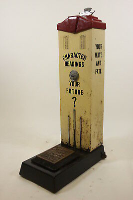 American Scale Mfg Co Vintage Penny Weight  Fate Fortunes Sidewalk Scale NO KEY