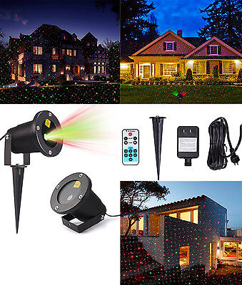 Outdoor Garden Laser Light LED Projector Moving Christmas Party Stage Lighting