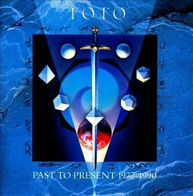 Past to Present 1977-1990 by Toto CD 1990 Sony Best Of Hold The Line Africa