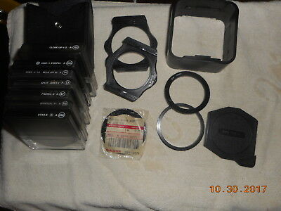 Lot Of Cokin Holders Case Star 8 Filters And More
