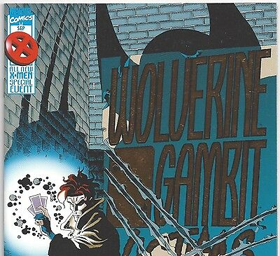 Wolverine / Gambit: Victims #1 from The X-Men from Sept. 1995 in VF+ con. DM