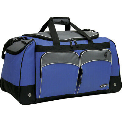 "Travelers Club Luggage Adventure 28"" Multi-Pocket Travel Duffel NEW"