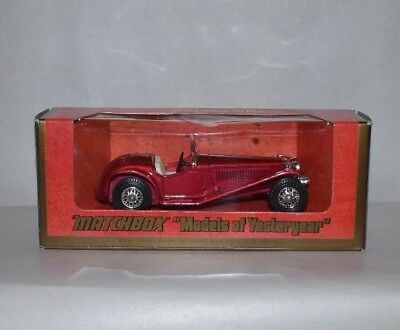 """1973 Vintage Matchbox 1934 Riley MPH """"Models of Yesteryear"""" RARE"""