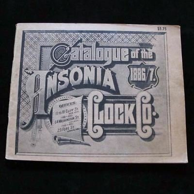 Catalogue of ANSONIA CLOCK CO. 1886-1887 Paperback Reprint - Illustrated Catalog