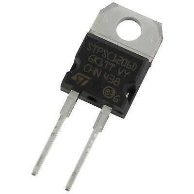 STM STPSC1206D SiC-Diode 12A 600V Silicon Carbide Schottky TO-220AC 856071