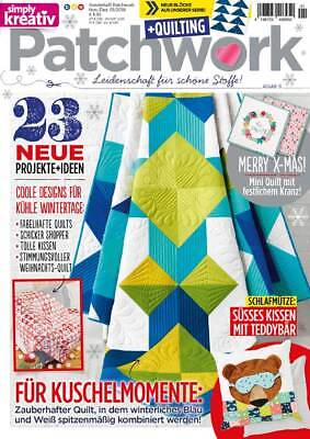 Simply 01/2018 PATCHWORK QUILTING - Coole Designs für kühle Wintertage