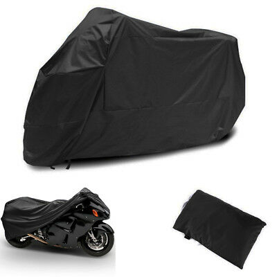 L Motorcycle Cover Motor Bike Scooter Touring Waterproof UV Rain Dust Protector