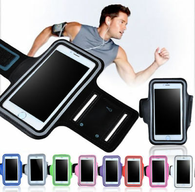 Universal Mobile Phone Sweatproof Waterproof Jogging Running Arm Band Holder