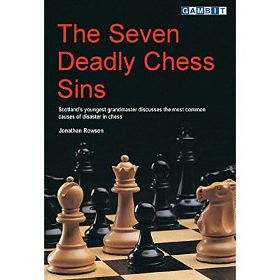 The Seven Deadly Chess Sins - Paperback NEW Rowson, Jonatha 2001-01-22