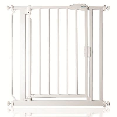 Safetots Narrow Self Closing Baby Gate Pressure Fix Baby Safety Gate 68.5cm-75cm