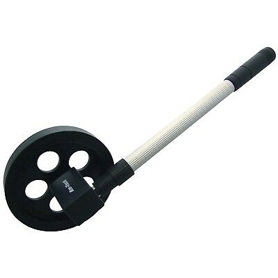 AMTECH 140mm MEASURING WHEEL 1000M  TELESCOPIC COUNTER MAP DISTANCE AREA RESET