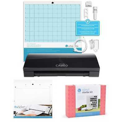 New Silhouette Cameo 3 Vinyl Cutter+ started KIT + Bundle