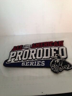 PRCA All American Pro Rodeo Series Patch