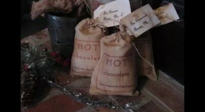 Hot Chocolate for use on the Polar Express Primitive tagged Ornie bowl Filler