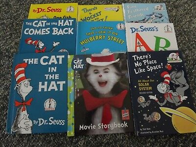 Lot of 9 Dr. Seuss Books/  All  hardcover