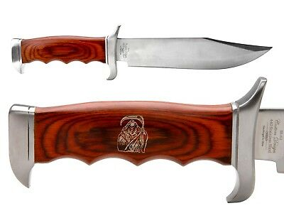 Elk Ridge Knife Hunting Fixed Blade Full Tang Wood ER-012 Grim Reaper 1