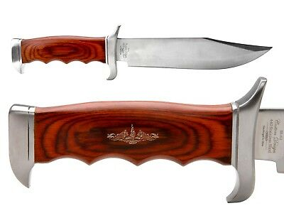 Elk Ridge Knife Hunting Fixed Blade Full Tang Wood ER-012 Submarine Warfare
