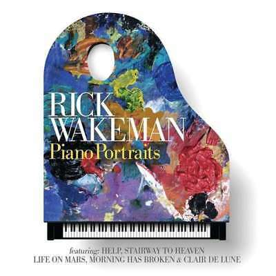 Rick Wakeman - Piano Portraits NEW CD