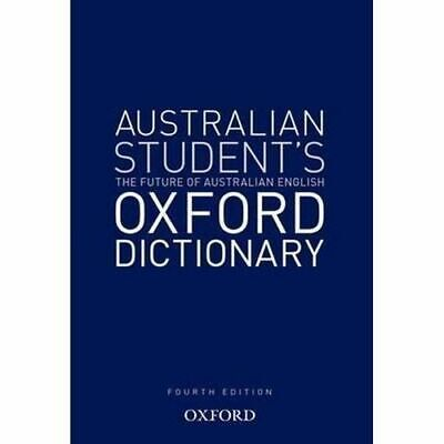 NEW Australian Student's Oxford Dictionary By Oxford Editor Hardcover