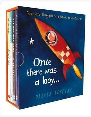 NEW Once There Was A Boy... By Oliver Jeffers Hardcover Free Shipping