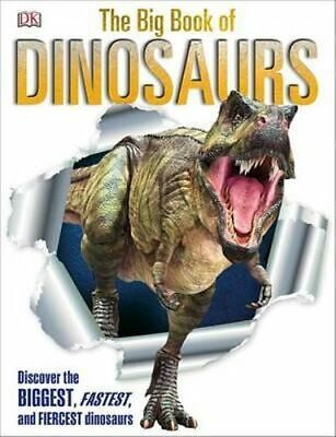 NEW The Big Book of Dinosaurs By DK Publishing Hardcover Free Shipping