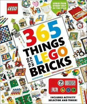 NEW 365 Things to Do with LEGO Bricks By DK Hardcover Free Shipping