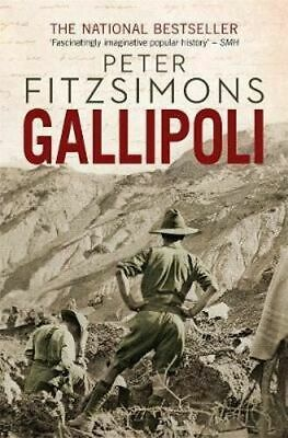 NEW Gallipoli By Peter FitzSimons Paperback Free Shipping
