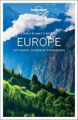 NEW Best of Europe By Lonely Planet Travel Guide Paperback Free Shipping