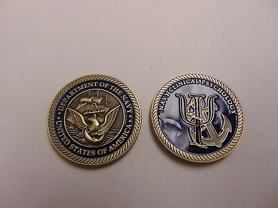 Challenge Coin Department Of The Navy Clinical Psychology Us Of America
