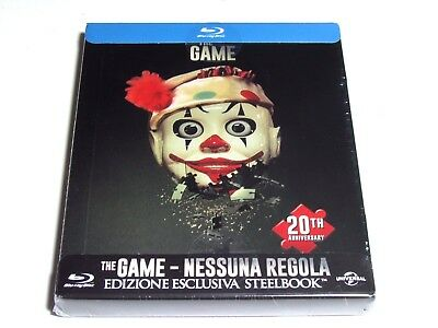 The Game Blu-Ray Steelbook Anniversary Limited Edition Import New David Fincher
