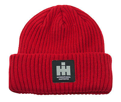 IH INTERNATIONAL HARVESTER *RED*  Stocking KNIT CAP *NEW!*