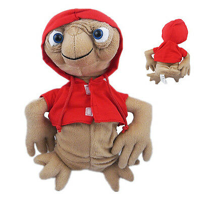 ET w/red coat Extra Terrestrial Film 27cm Soft Plush Toy Doll