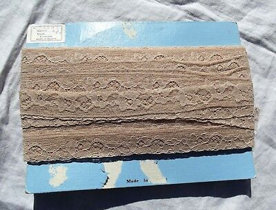 Vintage Card Of French Cotton Lace