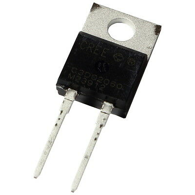 Cree C3D02060A SiC-Diode 4A 600V Silicon Carbide Schottky Diode TO220AC 855418