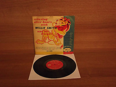 Relaxing After Hours With Willie Smith And His Friends : 10'' Vinyl : MG26000