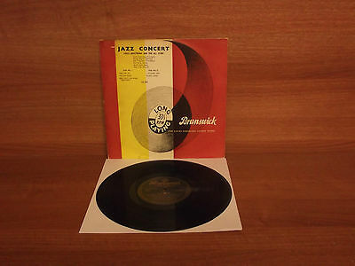 Louis Armstrong & The All Stars : JAZZ CONCERT : 10'' Vinyl : LA 8534