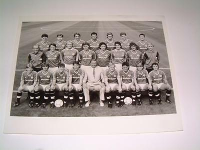 Manchester United Fc 1986-87 Squad Press Or Club Issued Photograph