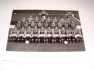 Manchester United Fc 1987 ?? Squad Press Or Club Issued Photograph
