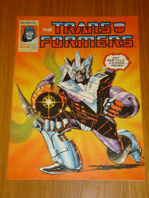 Transformers British Weekly #118 Marvel Uk Comic 1987