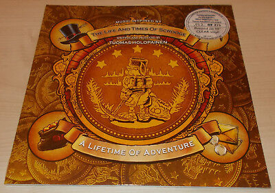 """Tuomas Holopainen-A Lifetime Of Adventure 10""""-Clear Vinyl-275 Only-Nightwish-New"""