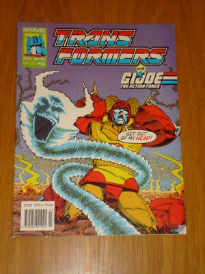 Transformers British Weekly #253 Marvel Uk Comic 1990