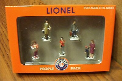 LIONEL COMMUTER PEOPLE (modern passengers) PACK O GAUGE FIGURES