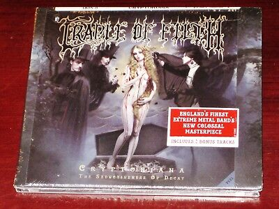 Cradle Of Filth: Cryptoriana - The Seductiveness Of Decay Limited Edition CD NEW