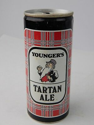 Vintage Younger's Tartan Special Ale 440 ml Straight Beer Can Scotland Brew