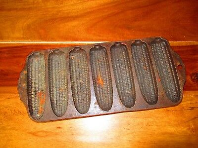 Vintage Griswold 273 Corn Stick Pan 930 Cast Iron Original Erie Pa Usa