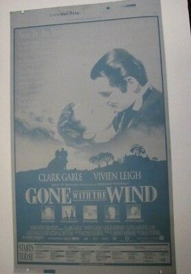 Gone With The Wind Ny Times  Offset Printers Plate